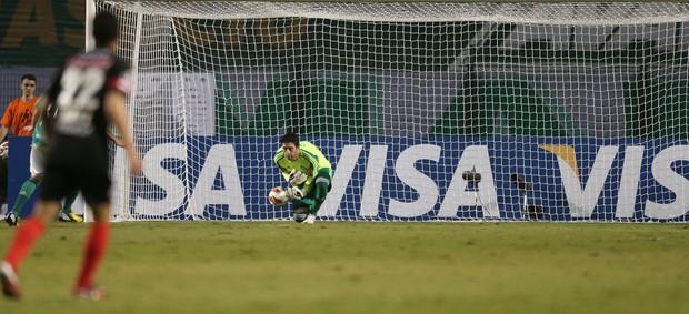 Bruno goleiro Palmeiras frango (Foto: Alex Silva / Ag. Estado)