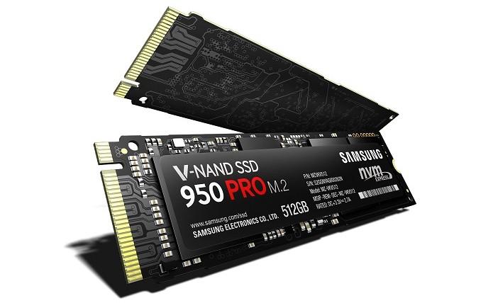 950 Pro é o primeiro SSD M.2 da Samsung a utilizar V-Nand (Foto: Divulgação/Samsung) (Foto: 950 Pro é o primeiro SSD M.2 da Samsung a utilizar V-Nand (Foto: Divulgação/Samsung))
