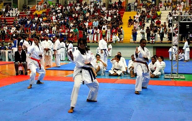 Campeonato Nacional de Karatê Interestilos (Foto: Mônica Dias/G1 AM)