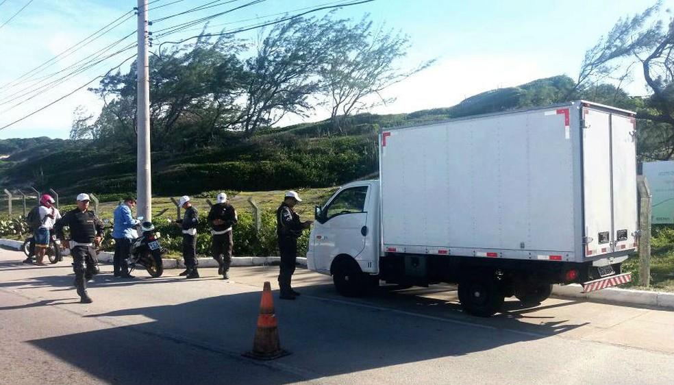 Operação envolveu 2323 policiais no RN (Foto: Divulgação/Polícia Militar)