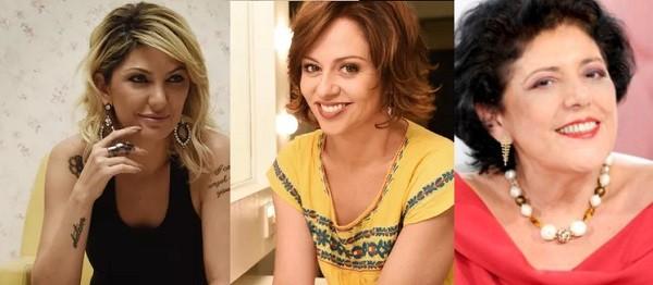 Antonia Fontelle, Guta Stresser e Leda Nagle: torcida pela honestidade no próximo ano (Foto: Reprodução)