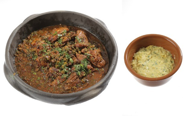 Cozinheiros em Ao - Ep. 10 - Frango com quiabo e polenta de milho verde (Foto: Adalberto de Melo 'Pygmeu')