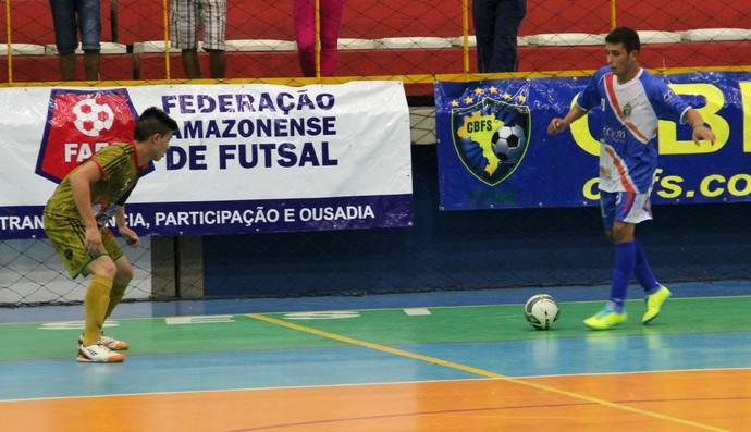 Futsal Amazonense sub-20 (Foto: Adeilson Albuquerque)