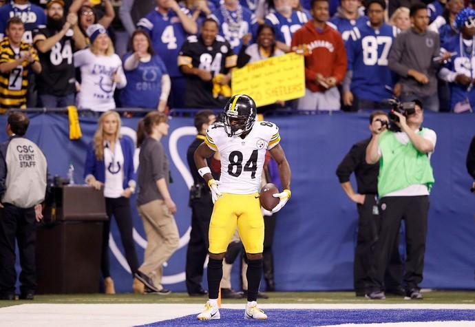 Antonio Brown NFL (Foto: Getty Images)