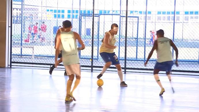 A superação dos atletas paralímpicos baianos (Foto: TV Bahia)