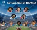 Champions: seleção da rodada do fantasy game tem quatro brasileiros