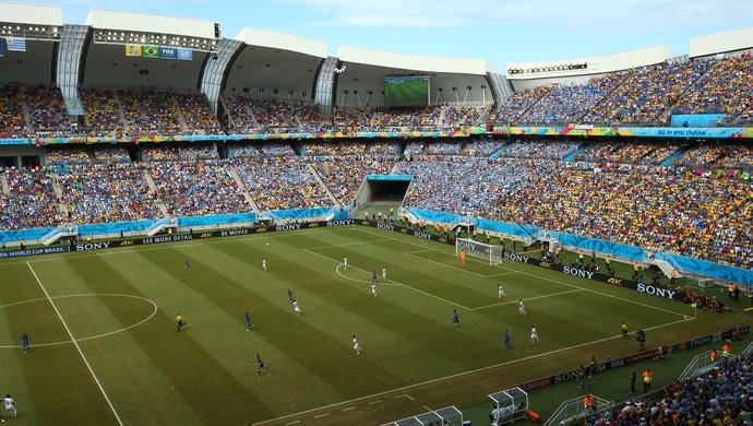 Arena das Dunas - Itália x Uruguai (Foto: Getty Images)