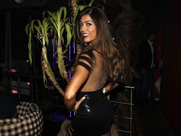 Muri Rodrigues em festa em São Paulo (Foto: Celso Tavares/ EGO)
