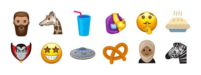 Vampiro, milkshake e emoji de shhh podem entrar na lista de emoticons do Unicode 10