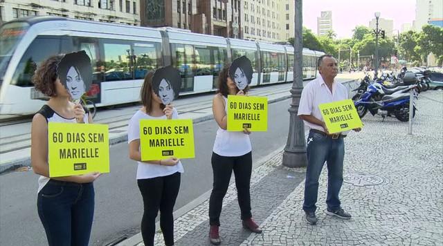 Dia é de protestos pelos 2 meses sem respostas sobre as execuções de Marielle e Anderson