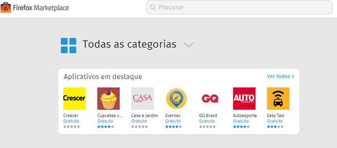 Usuário pode baixar apps (Foto: Thiago Barros/TechTudo)