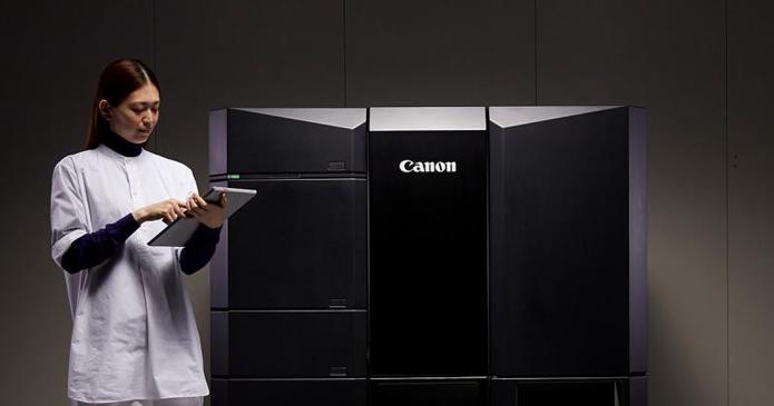 Impressora 3D da Canon foi desenvolvida para poupar tempo em processos de impressão de pequeno e grande volume (Foto: Divulgação/Canon)