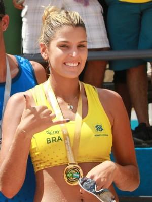 Mari Paraíba vôlei de praia Manaus (Foto: Isabella Pina)