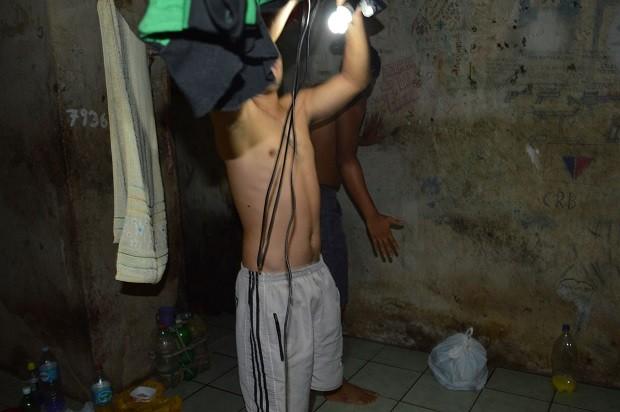 Problemas elétricos foram constatados na delegacia de Colônia Leopoldina (Foto: Divulgação/ PC)