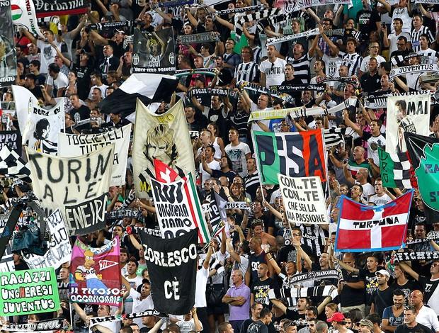 Juventus x Parma, Torcedores (Foto: Agência Getty Images)