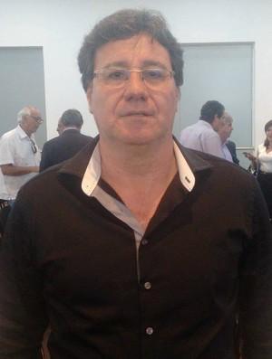 Rubens Pinheiro, presidente do Atlético-ES (Foto: Wagner Chaló/GloboEsporte.com)