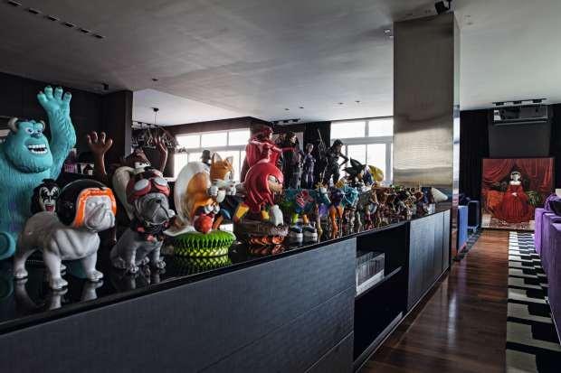 Coleção de toy art (Foto: LufeGomes/Editora Globo)