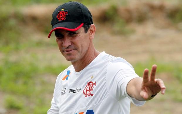Jorginho treino flamengo (Foto: Cezar Loureiro/Agência O Globo)