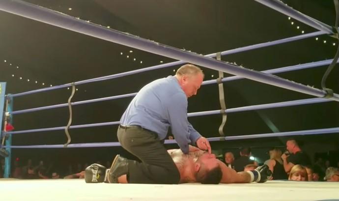 Tim Hague, boxe (Foto: Reprodução/Youtube)