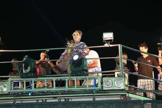 Anitta em Salvador (Foto: Mauro Zaniboni /Ag Haack)