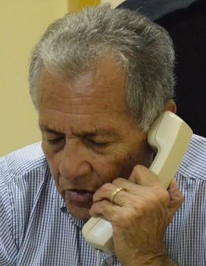 Carivaldo de Souza, presidente da FSF (Foto: João Áquila / GLOBOESPORTE.COM)