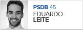 Eduardo Leite, PSDB, candidato de Pelotas (Foto: Arte G1)
