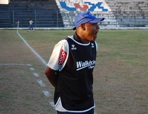 Mirandinha, técnico do Lucena  (Foto: Silas Batista / GloboEsporte.com)