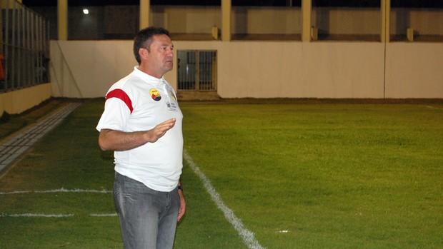 Treinador do Paraíba de Cajazeiras, Jorge Pinheiro (Foto: Richardson Gray / Globoesporte.com/pb)