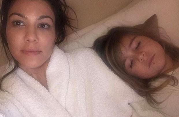 Kourtney Kardashian e Penelope (Foto: Reprodução)