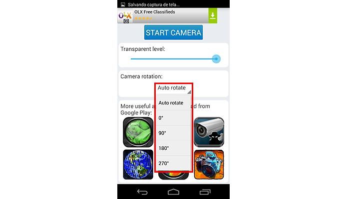 Personalize a rotação da tela (Foto: Reprodução/Paulo Alves)