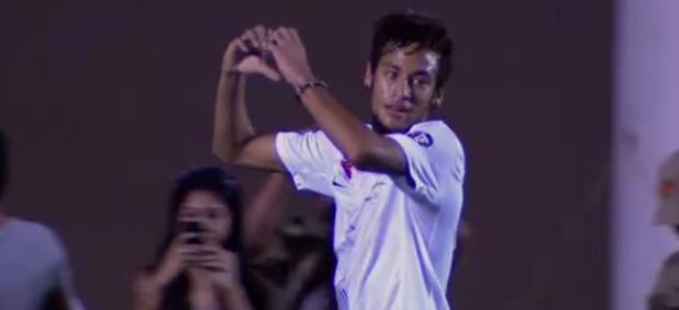 Neymar; Encontro das Estrelas (Foto: Reprodução SporTV)