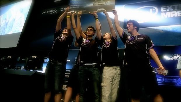 Millenium foi vencedora do campeonato de 'League of Legends' na Campus Party Brasil 2014 (Foto: Divulgação/Intel Extreme Masters)
