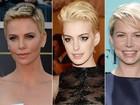 Charlize Theron e mais famosas preferem os cabelos curtinhos