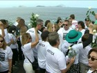 Manifestação no Rio relembra vítimas de ciclovia que desabou há 2 meses