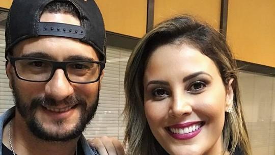 Jessica Leão recebeu o ex-BBB Daniel na TV Diário
