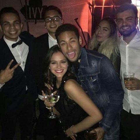 Bruna na festa de aniversário de Neymar (Foto: Instagram / Reprodução)