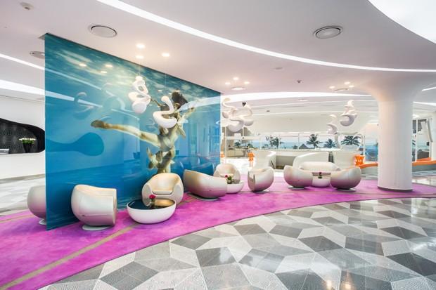 Lobby do Temptation Hotel (Foto: Divulgação/Temptation Hotel)