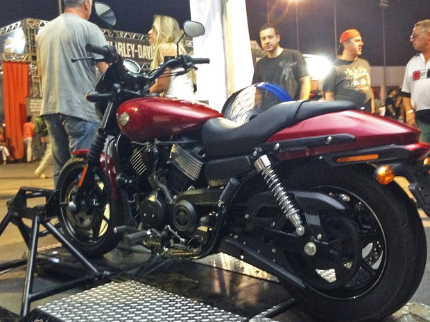Harley-Davidson Street 750 (Foto: Rafael Miotto/G1)