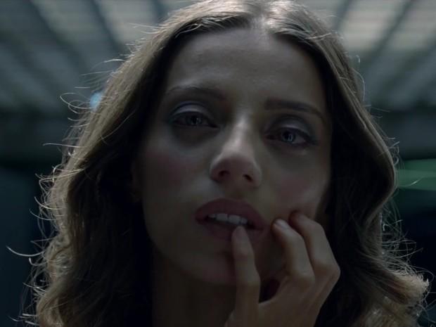 Angela Sarafyan interpreta Clementine Pennyfeather em 'Westworld' (Foto: Divulgação)
