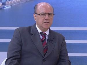 Secretário Segurança, RS, Cézar Schirmer, entrevista, Jornal do Almoço (Foto: Reprodução/RBS TV)
