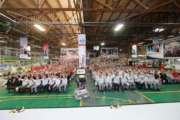 Nissan chega a 11 milhões de motores produzidos no México (Foto: Divulgação)