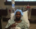 Dedé posta foto antes de cirurgia e pede orações e pensamento positivo