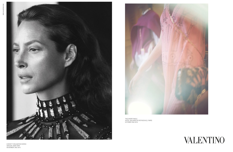 A campanha do verão 2017 da Valentino (Foto: Reprodução)