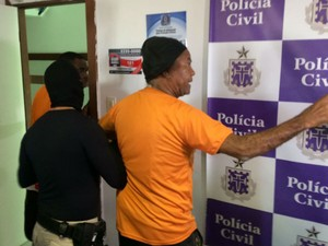 Ravengar estava irritado com a prisão dele (Foto: Alan Oliveira/G1)