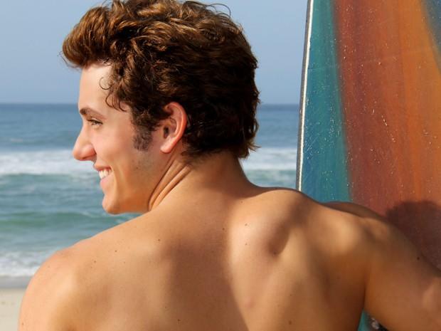 Christian Monassa elegeu a Praia de Geribá, em Búzios, como sua favorita (Foto: Gustavo Azevedo / Divulgação)