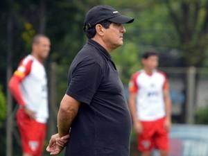 Muricy Ramalho durante treino do São Paulo (Foto: Site Oficial / saopaulofc.net)