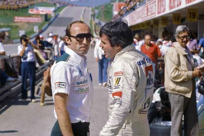 Frank Williams e Alan Jones em 1980