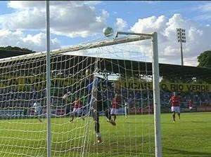 Atlético-GO x Luverdense (Foto: Reprodução)