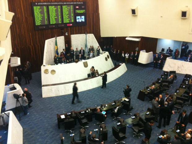Assembleia Legislativa do Paraná - Alep (Foto: Fernando Castro/G1)