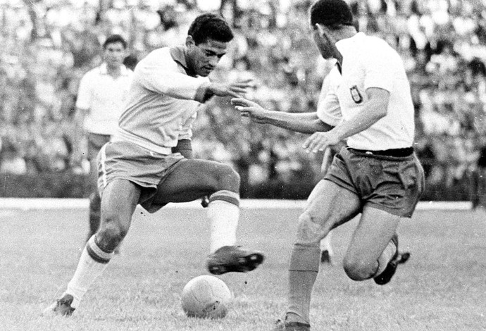 Copa do Mundo 1962 - Garrincha (Foto: Agência estado)